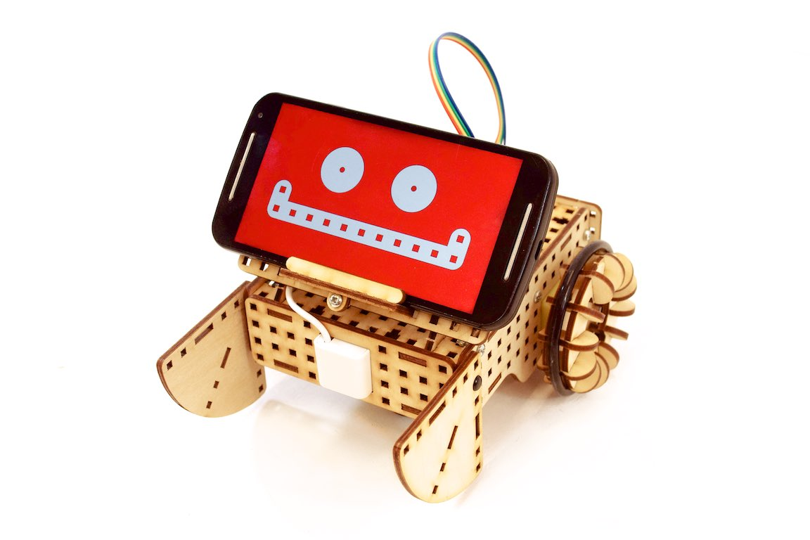 smartphone head robot iphone android arduino