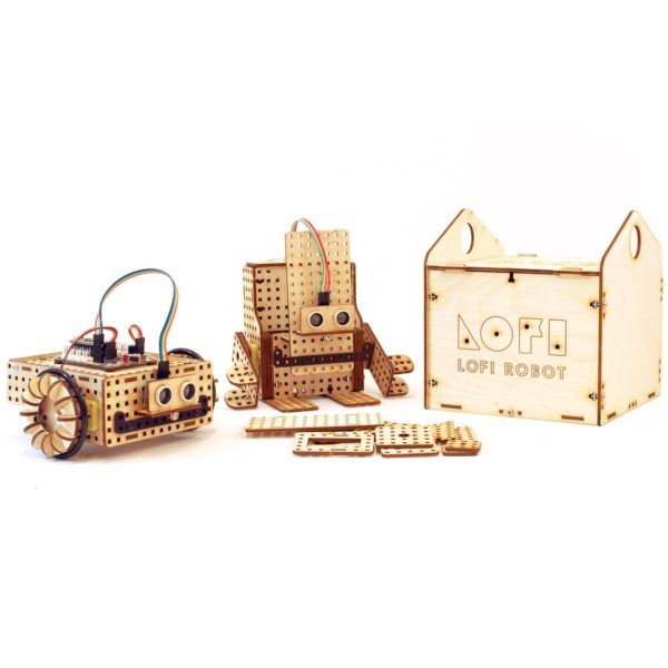 Edubox mini robot construction kit